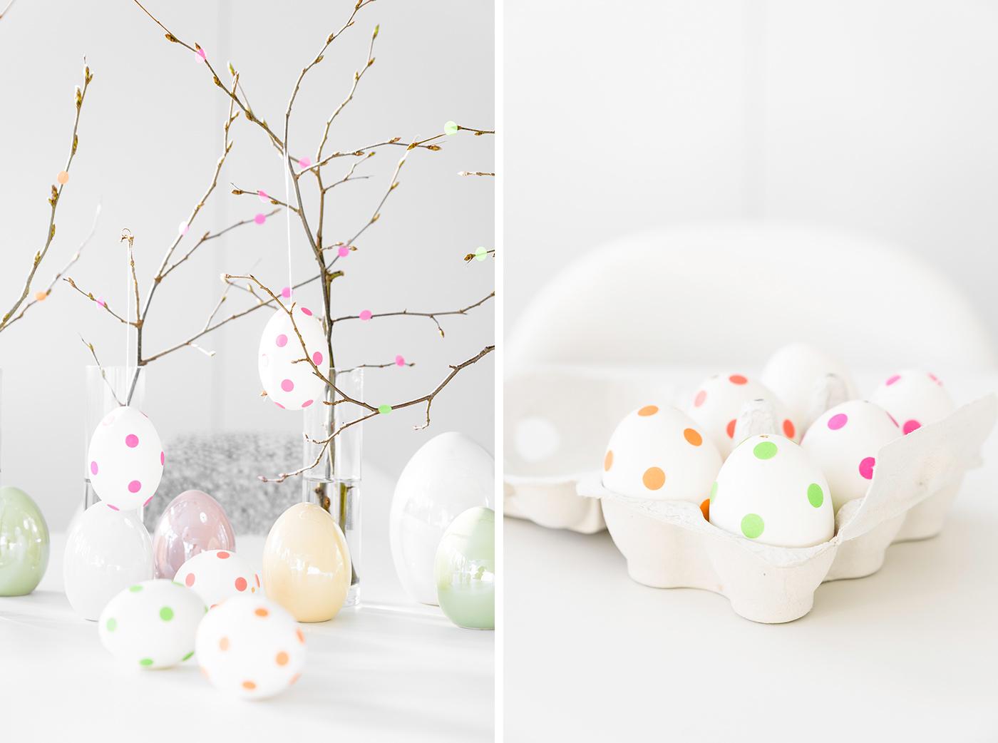 Eier verzieren - DIY Osterdeko