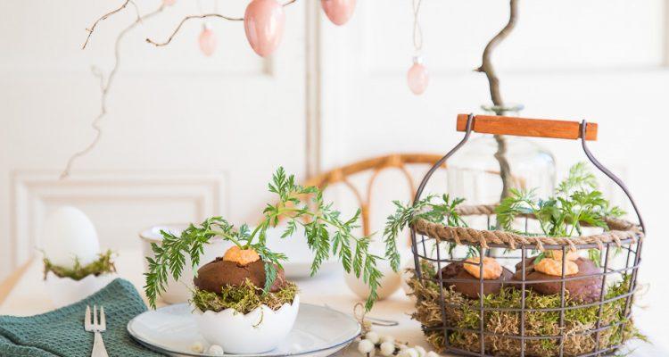 Schokomuffins mit mandelsahne eine s e versuchung im for Herbst dekoartikel