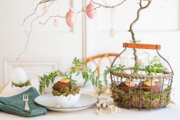 Süße Versuchung für den Osterhasen – Schokomuffins mit Mand