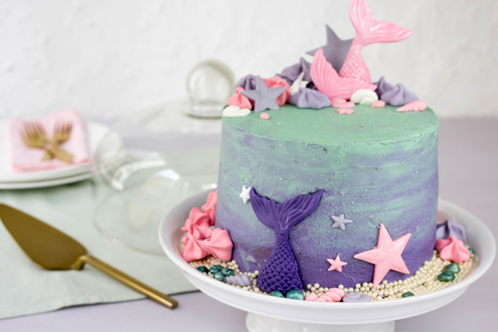 Mermaid Cake komplett