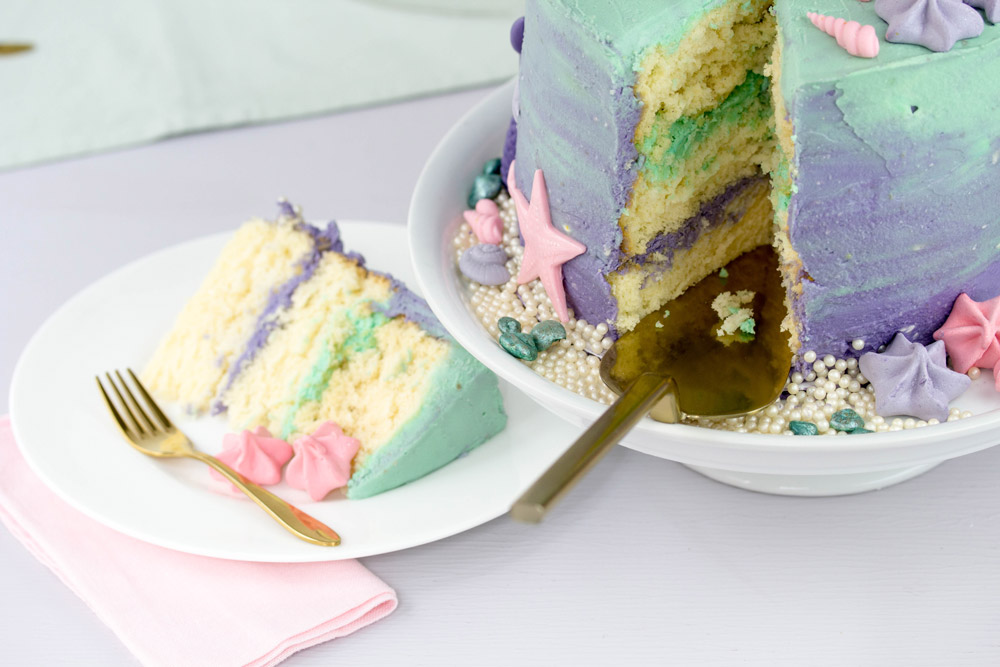 Mermaid Cake innen