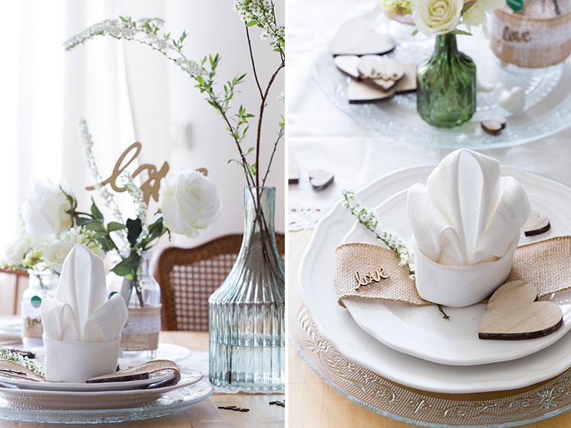 vintage-hochzeitsdeko-mit-serviettenlilie