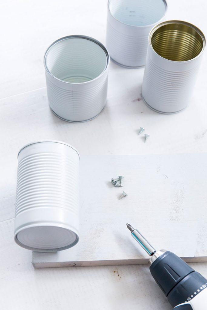 DIY Besteckkorb