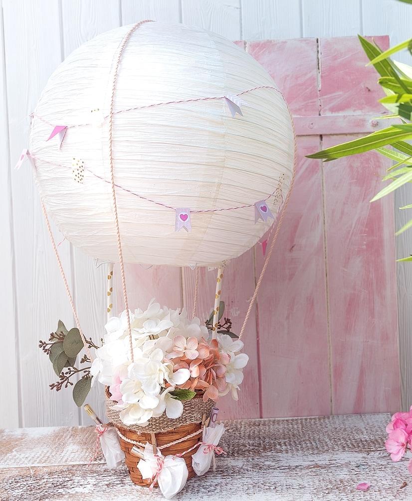 heißluftballon basteln hochzeit
