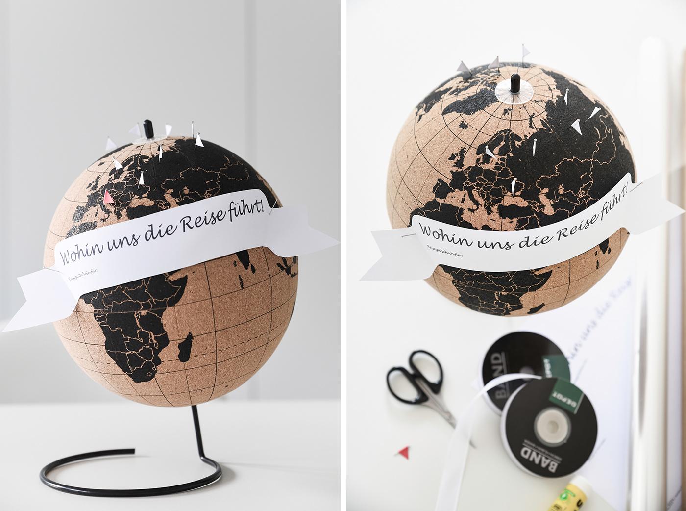 Geschenkidee: Reisegutschein Selbermachen