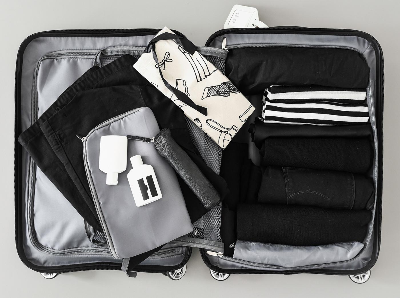 Wie packe ich meinen Koffer platzsparend? Tipps und Tricks
