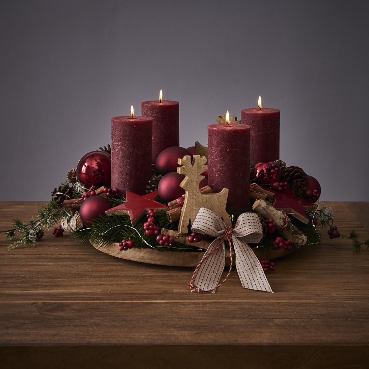 klassischer adventskranz binden sch n bei dir by depot. Black Bedroom Furniture Sets. Home Design Ideas