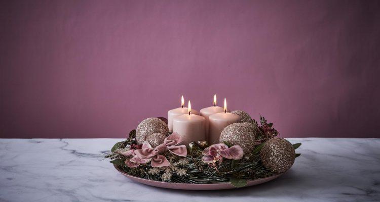 romantischer adventskranz binden 2 sch n bei dir by depot. Black Bedroom Furniture Sets. Home Design Ideas