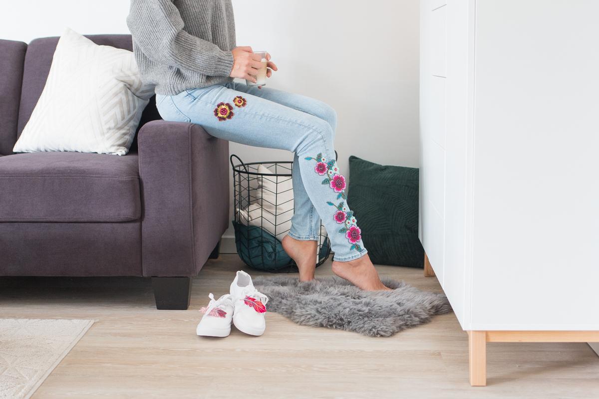 pimp my textiles patches als fashion statement sch n bei dir by depot. Black Bedroom Furniture Sets. Home Design Ideas