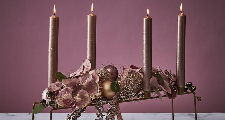 romantischer adventskranz binden sch n bei dir by depot. Black Bedroom Furniture Sets. Home Design Ideas
