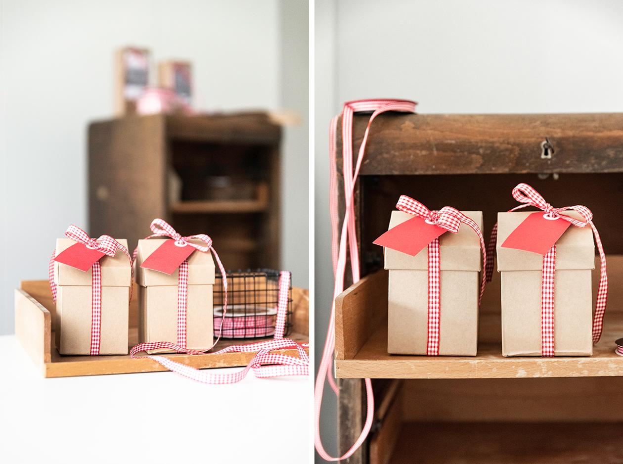 Geschenke im Kitzbühel-Style verpacken - Rot-Weiß