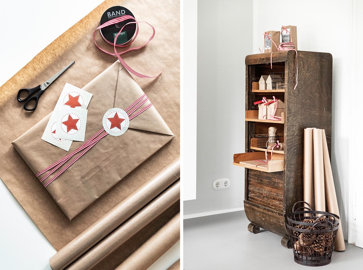 Weihnachtsgeschenke im Kitzbühel-Style verpacken