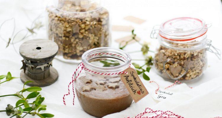 Geschenke aus der Küche - Winterliches Spekulatius Granola und ...