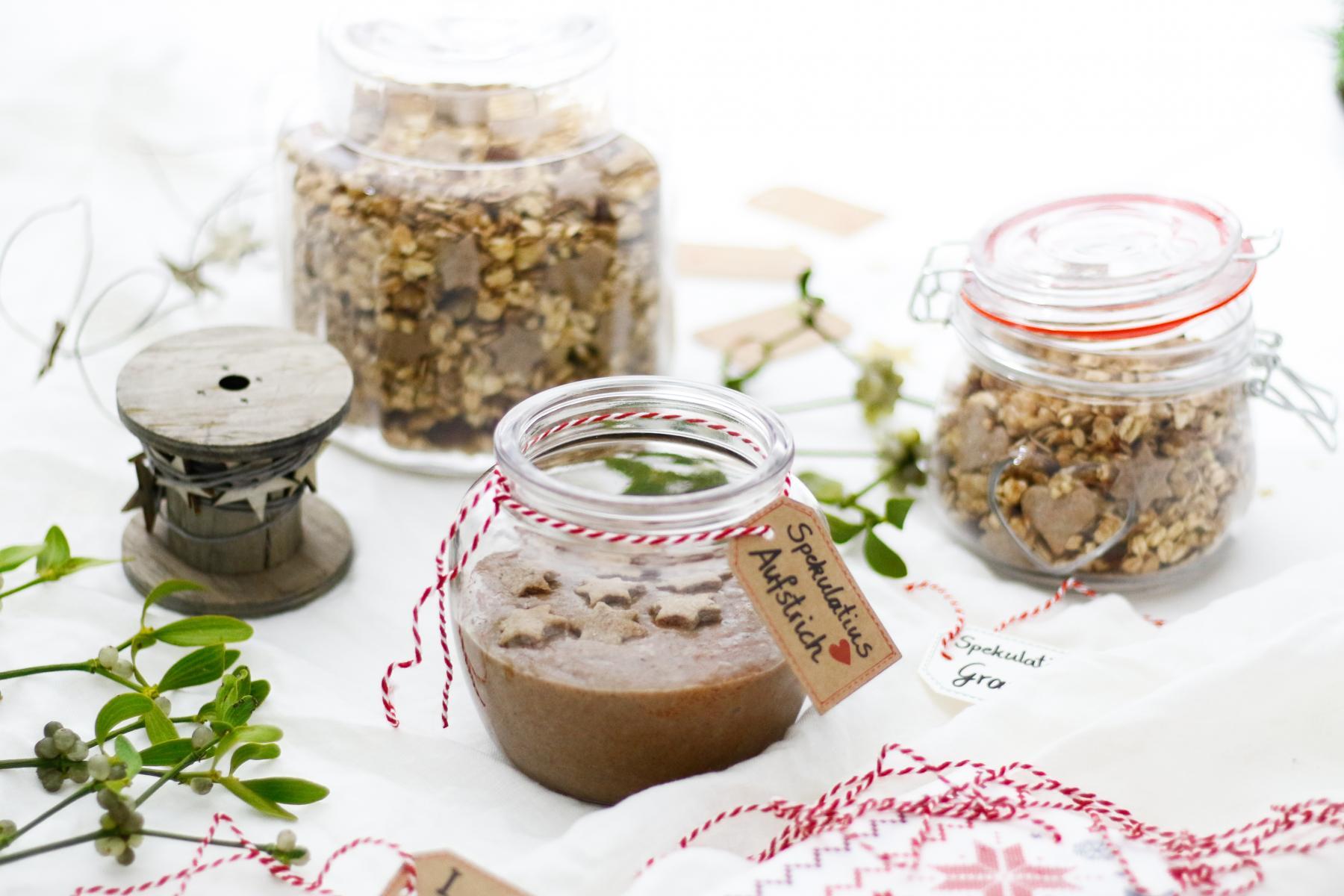 Geschenke aus der Küche - Winterliches Spekulatius Granola ...