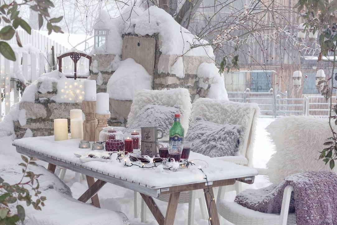 Weihnachtsbaumentsorgen mit Knut