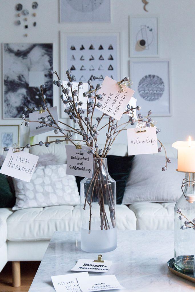 kalender der guten vors tze vors tze die wirklich jeder schafft sch n bei dir by depot. Black Bedroom Furniture Sets. Home Design Ideas