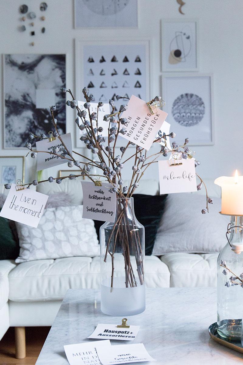 gem tliche deko nach weihnachten mit guten vors tzen. Black Bedroom Furniture Sets. Home Design Ideas