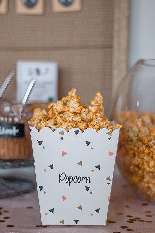 Chili-Curry-Popcorn selbstgemacht für Popcorn Bar