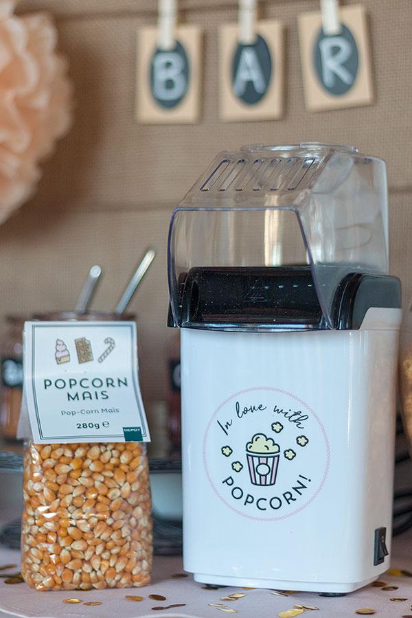 Popcornmaschine von DEPOT für Popcorn Bar