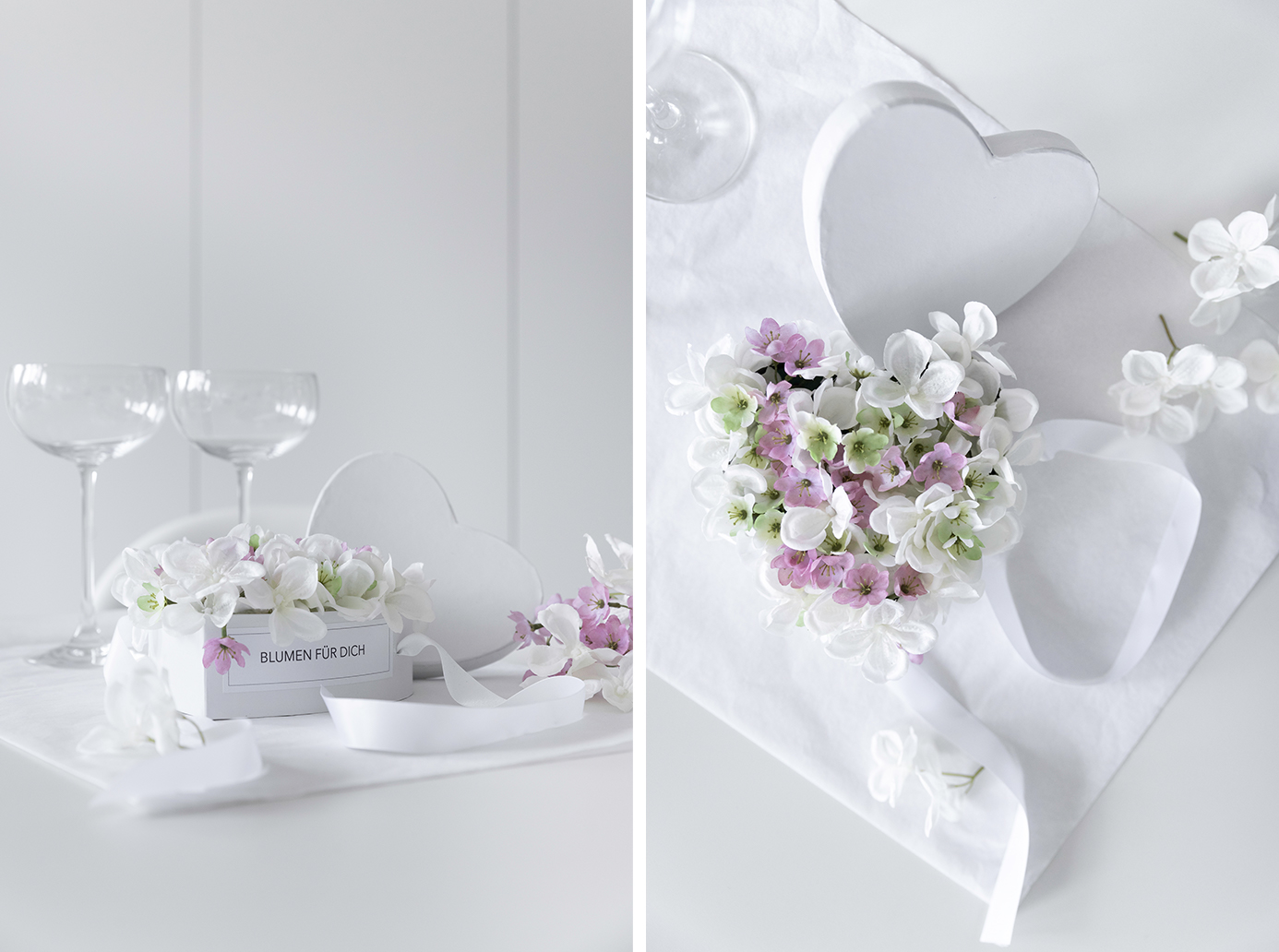 DIY Flowerbox - ein Herz zum Muttertag oder als Hochzeitsgeschenk!