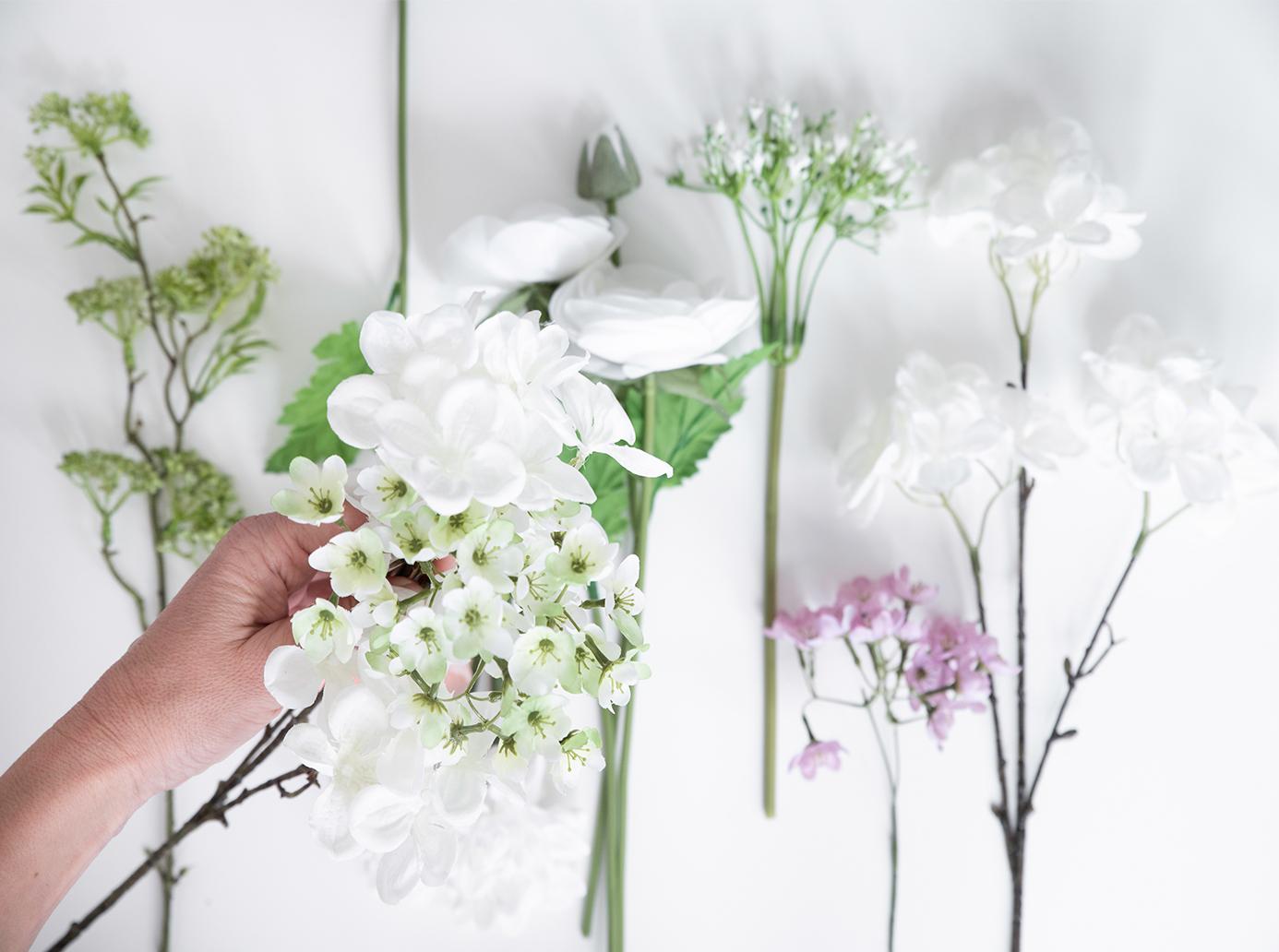 Blumenauswahl für die Blumenschachtel