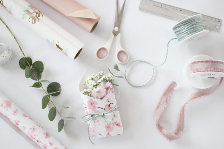 Blumenpaket zum Muttertagsbrunch - das brauchst du