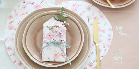 Muttertagsbrunch - Tischgedeck