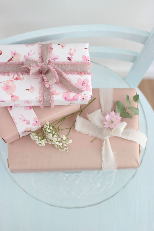 Muttertagsgeschenk Verpackung