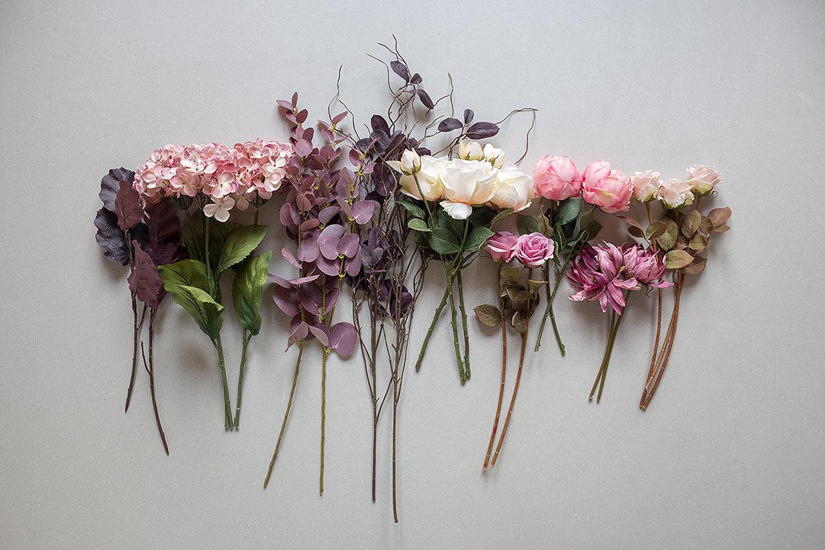 Zubehör Kunstblumenstrauß