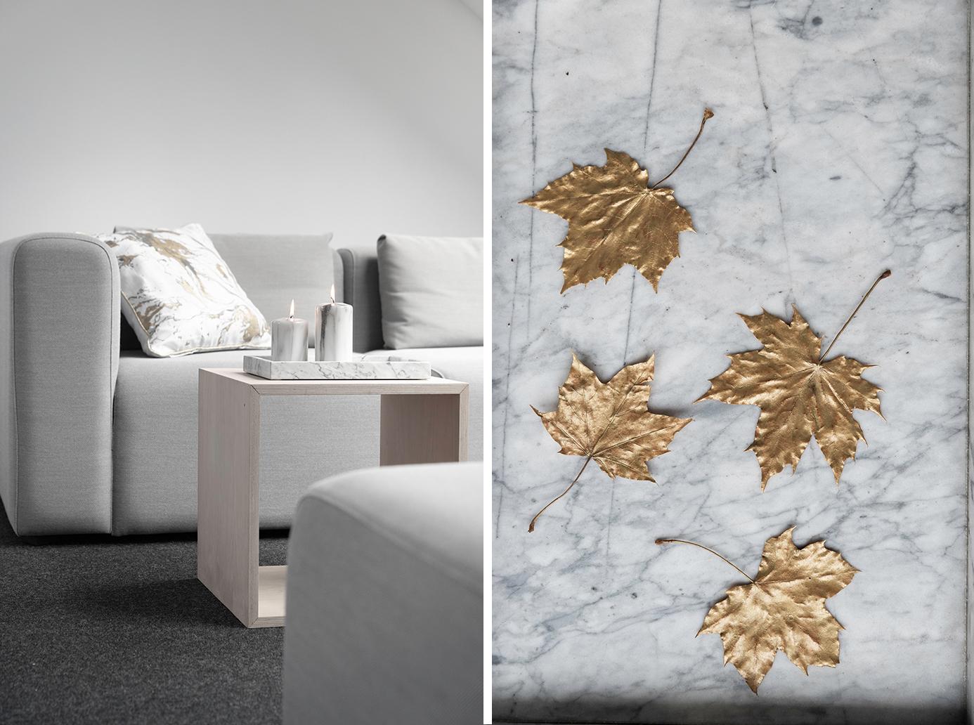 Der Marmor-Look für das Wohnzimmer
