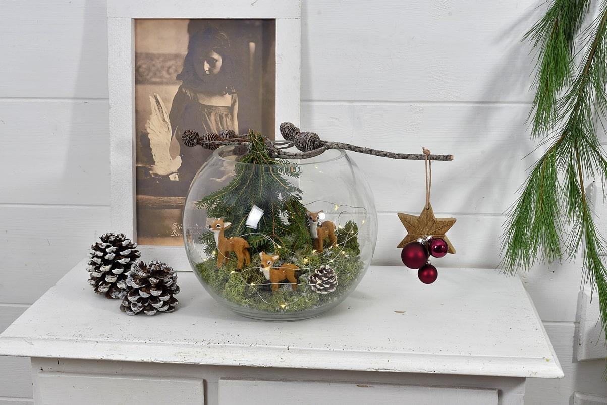 Weihnachtsdeko aus Naturmaterialien selber machen.