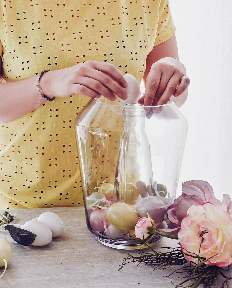 DIY-Anleitung Osterdeko mit Ostereiern