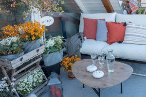 Frühlingsupdate für den Balkon mit Frühlingsblühern