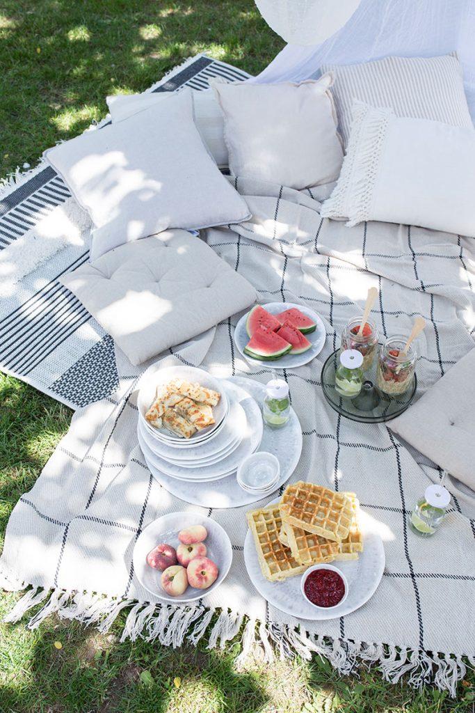 picknick-im-garten-mit-vielen-kissen-und-outdoorteppich