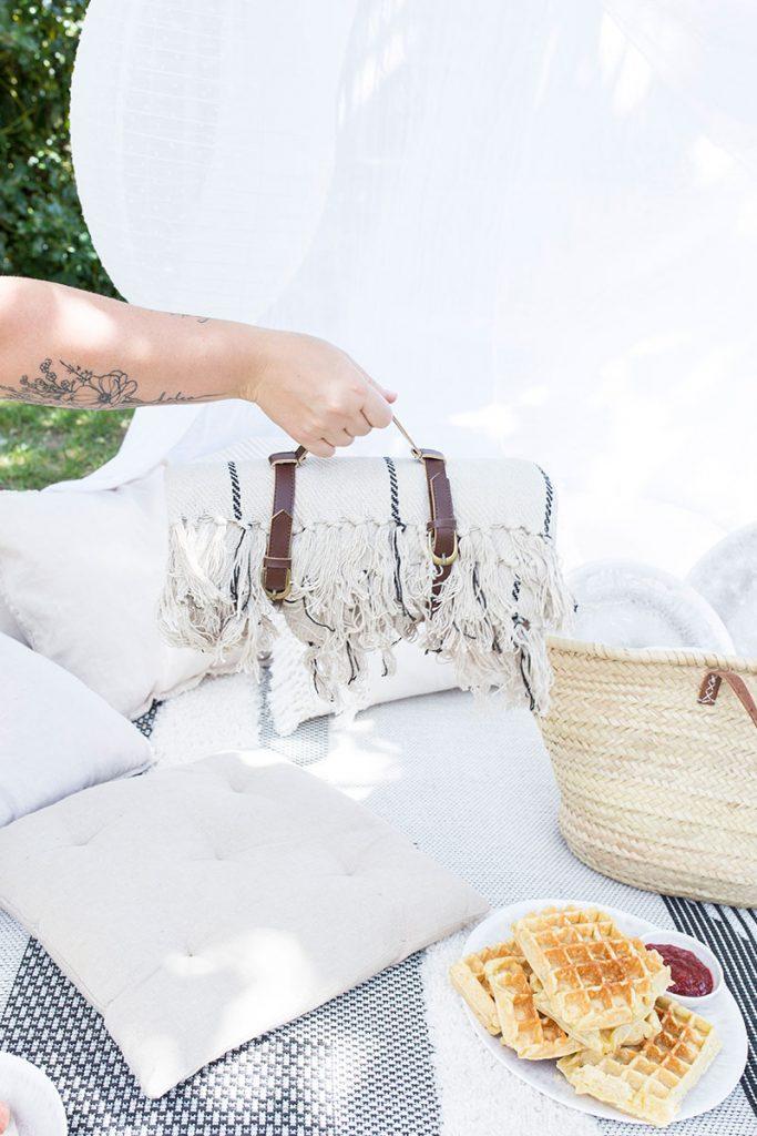 stylische-picknickdecke