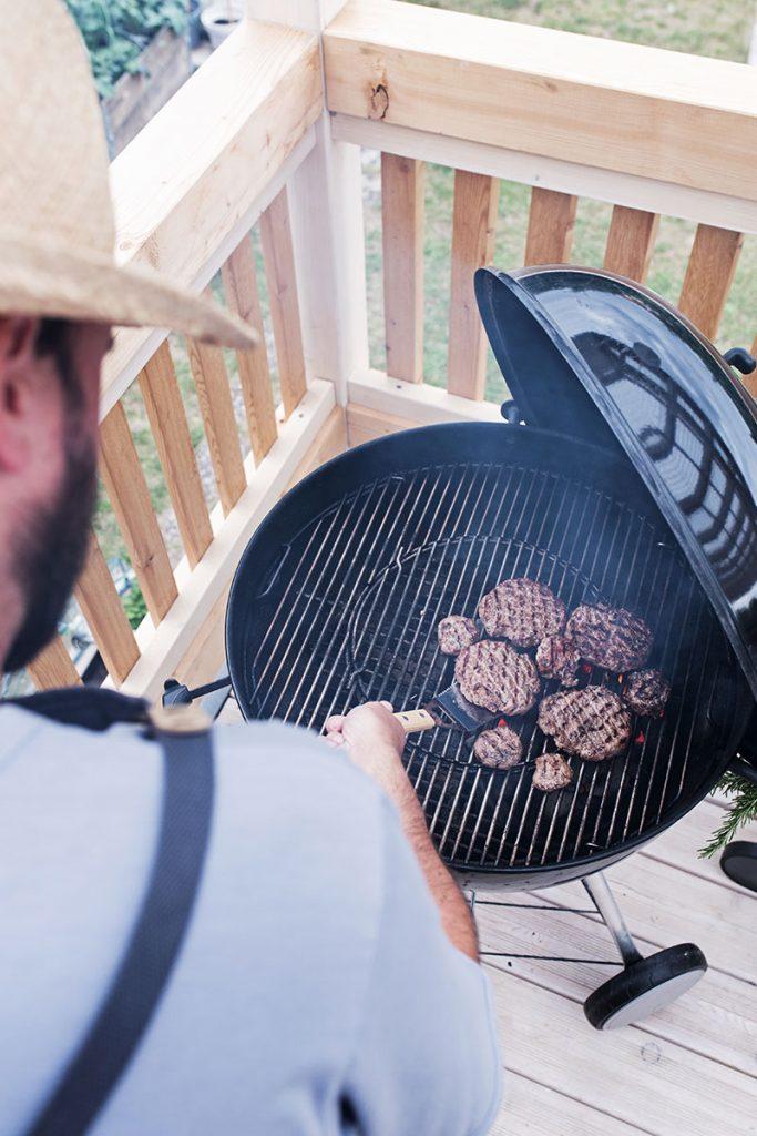 burgerpatties-grillen
