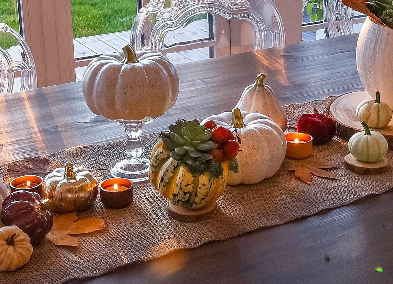 Natürliche Herbstdeko selber machen.
