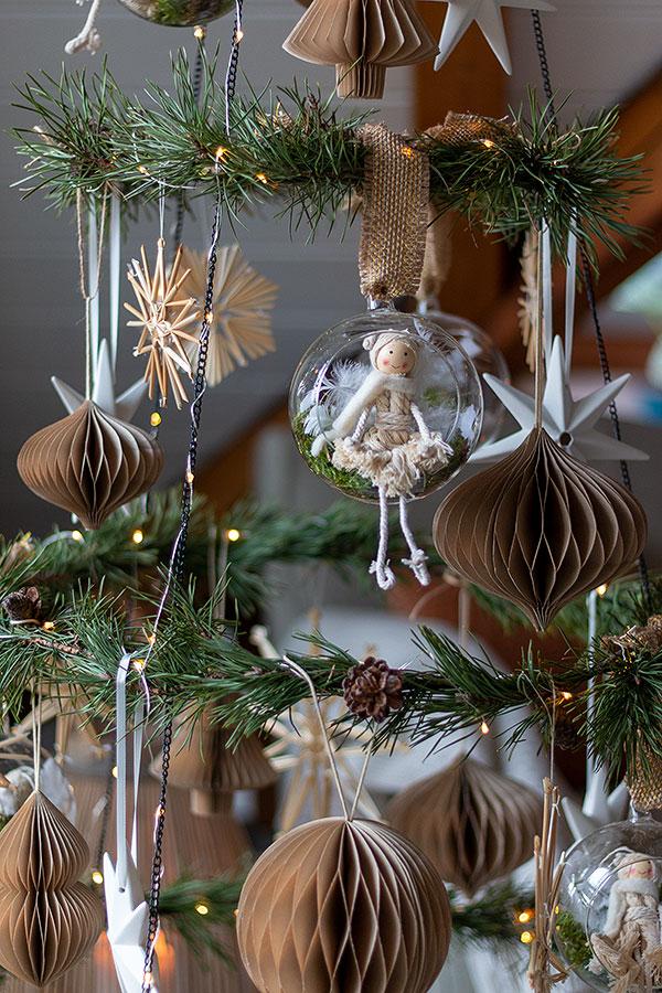 DIY Weihnachtsbaum Metallring