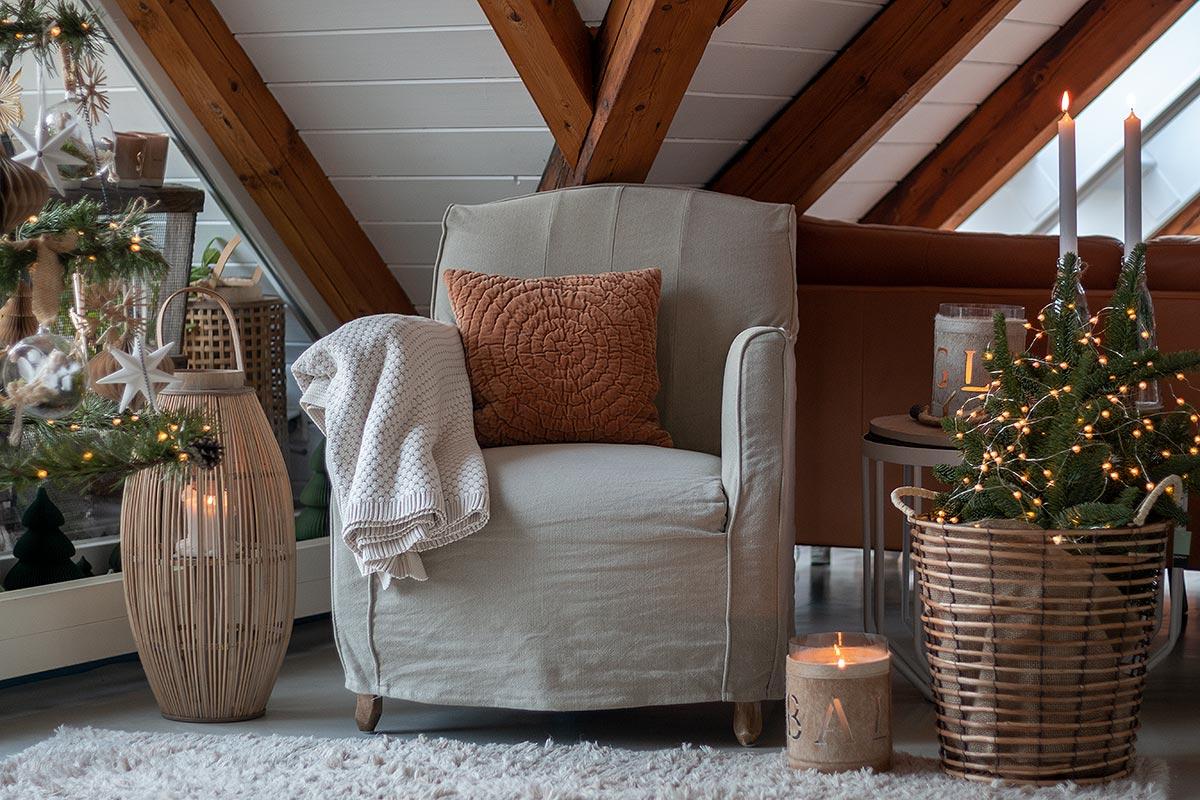 DIY Weihnachtsbaum ersetzt Tannenbaum und sorgt trotzdem für Weihnachtsfeeling