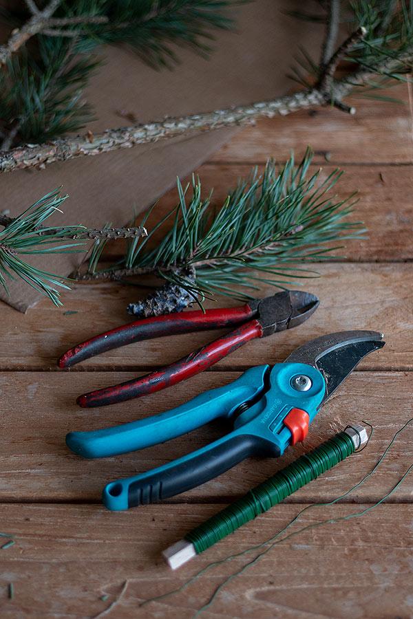 Zubehör für den DIY Weihnachtsbaum