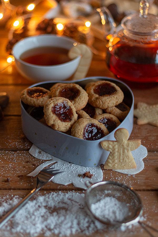 Weihnachtsbäckerei: Engelsaugen selbermachen