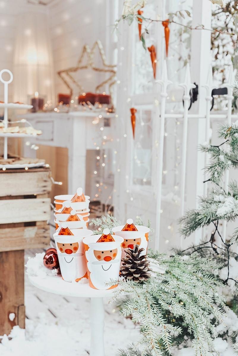 Lustige Weihnachtsbecher