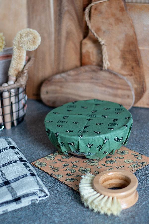 Bienenwachstücher für mehr Nachhaltigkeit in der Küche
