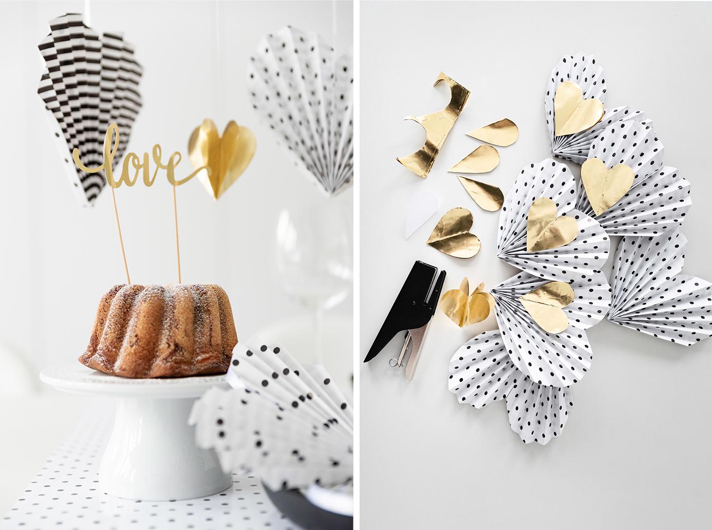 Tischdeko für den Valentinstag - Rezepte für süß-herbe Kekse zum Valentinstag