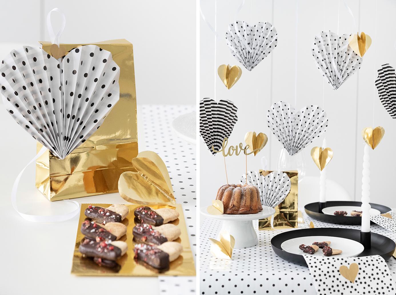 Süß herzhafte Rezepte für den Valentinstag