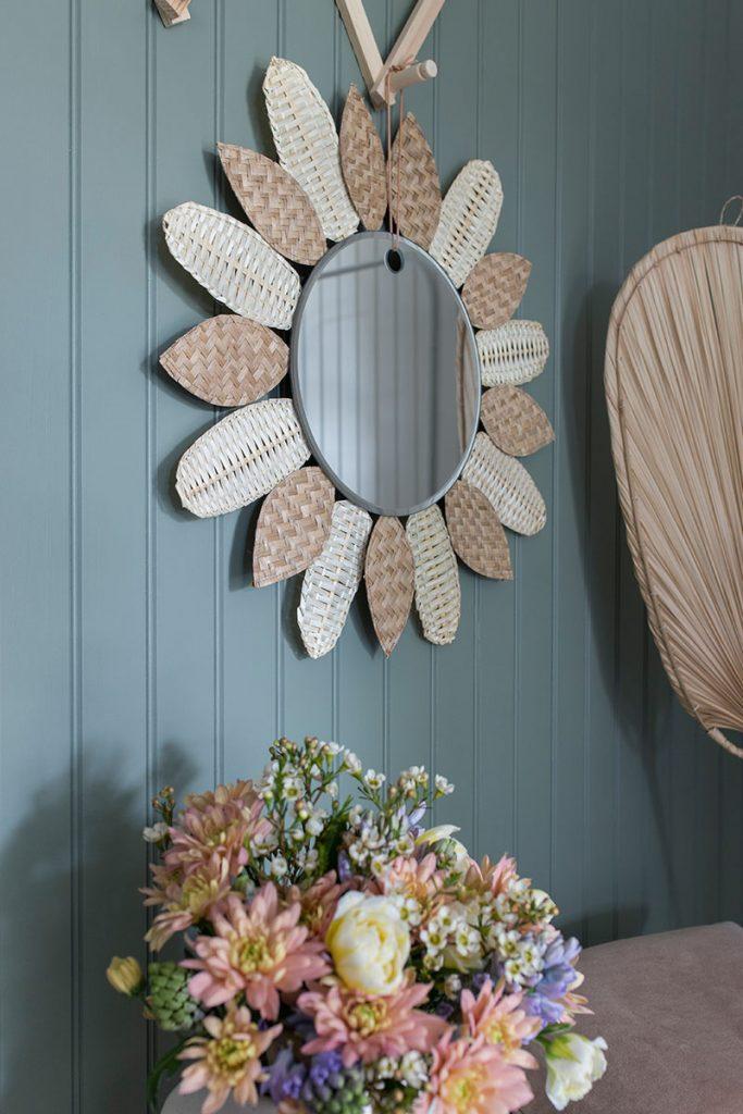 selbstgemachter-rattan-spiegel